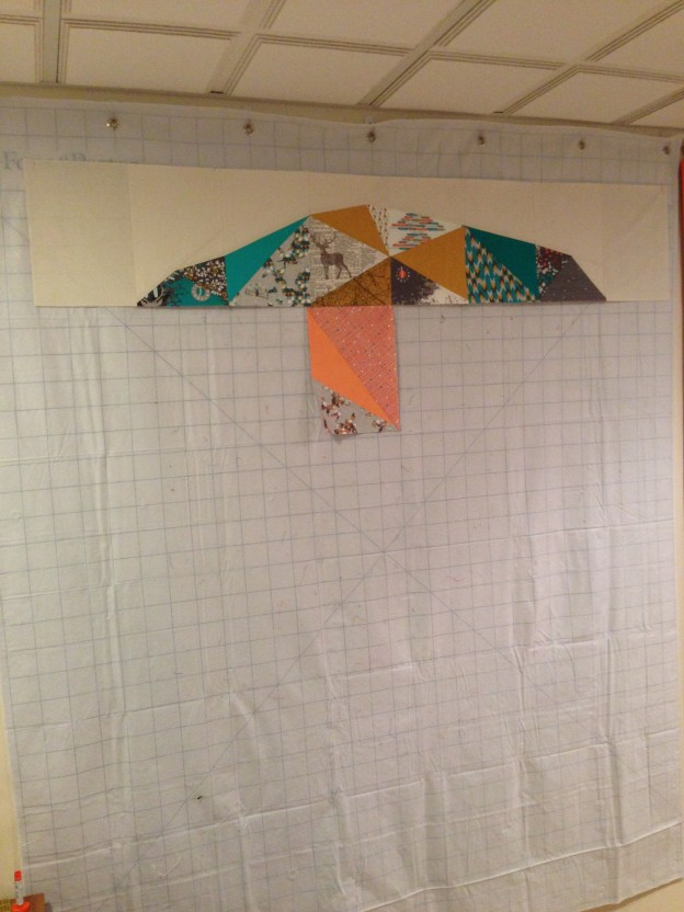 Space Dust Quilt Along – Week Two – Row One