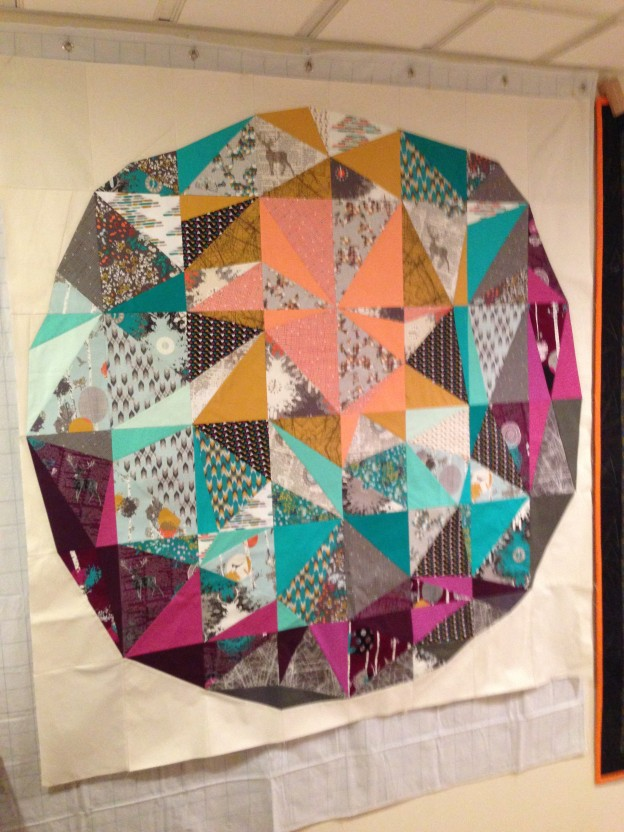 Space Dust Quilt Along – Week Three – Row 2