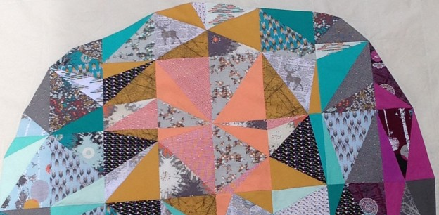 Space Dust Quilt Along –  Week 4 – Row Three
